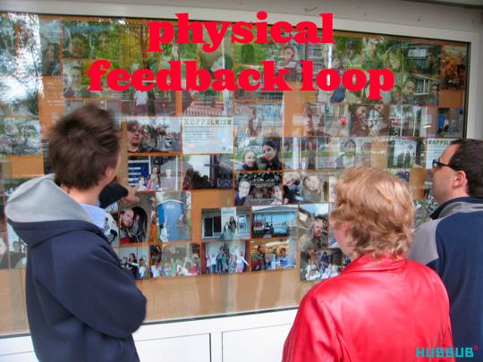 Physical feedback loop