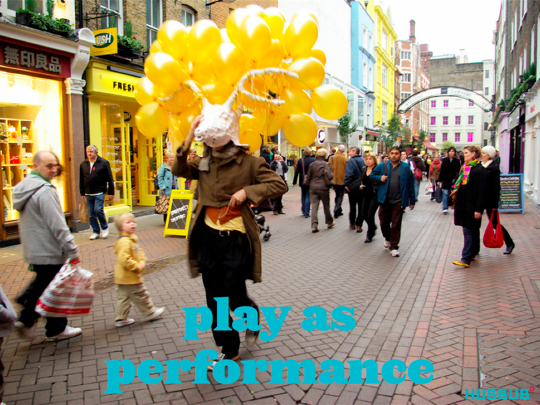 The Soho Project, play as performance