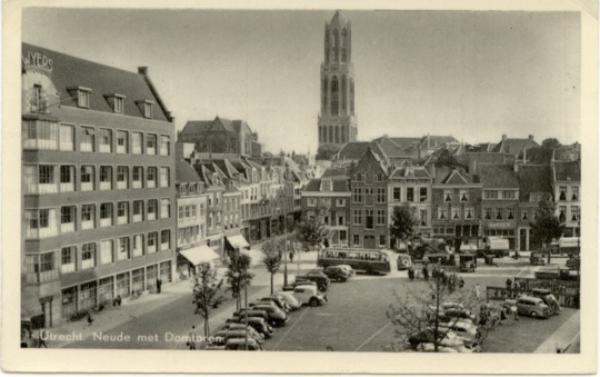 Neude square back in the day