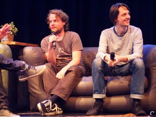 Niels and Kars at Control Gamelab #8