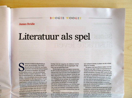 An article on play in literature by James Bridle, written for the Gids edition announcing the game