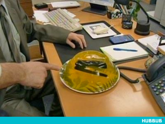 'Stapler in the Jelly', The Office