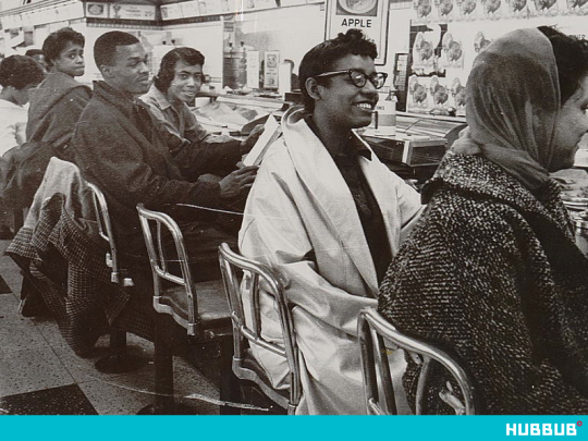Sit-in organized at a Nashville lunch counter in 1960